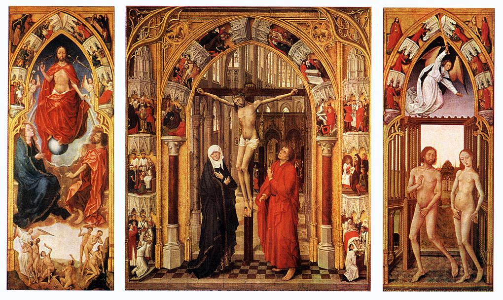 Triptych of the Triduum - Holy Thursday - Church of St. Mary