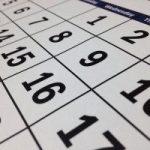 Parish Calendar of Events